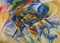 Boccioni - Dinamismo di un Ciclista (1913)