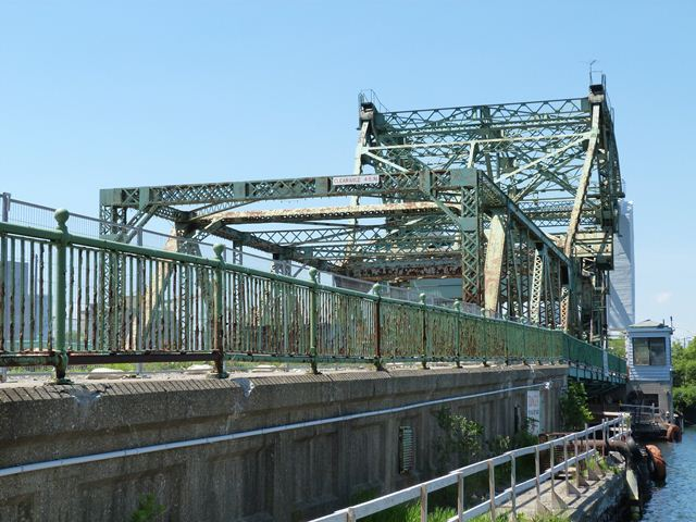 Cherry Street Strauss Trunnion Bascule Bridge- Toronto