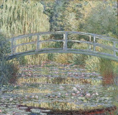 Claude Monet, Le bassin aux nymphéas, harmonie verte (1989)