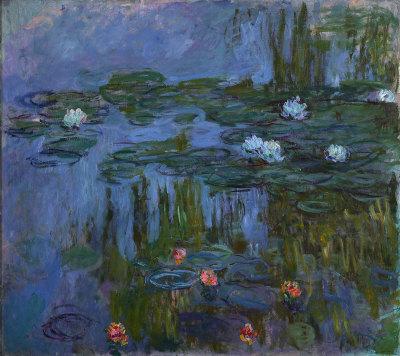Claude Monet,water Lilies 1914-1915