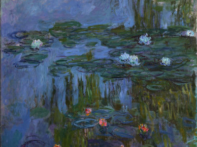 Claude Monet,water Lilies 1914-1915