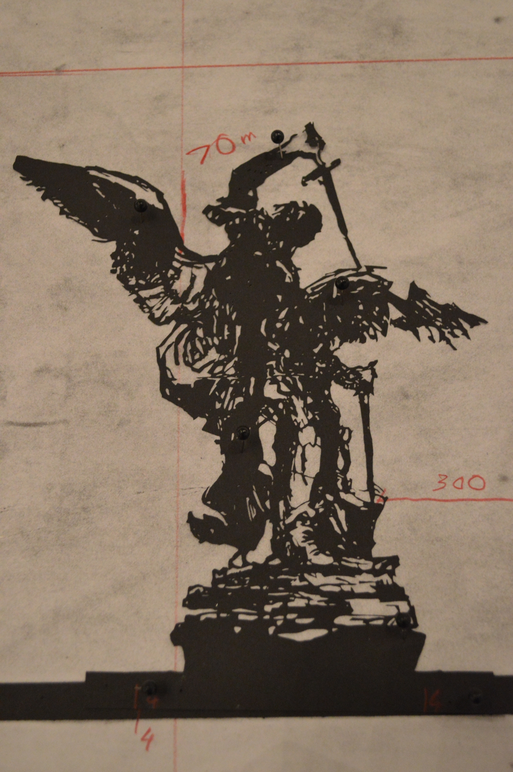 William Kentridge Drawing for Triumphs & Laments