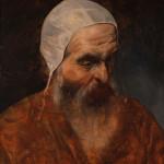 Francesco Hayez (Venezia, 10 febbraio 1791 – Milano, 21 dicembre 1882) Autoritratto come Doge Gritti, 1870 ca. olio su tela. Pavia, Musei Civici del Castello Visconteo