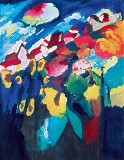 Kandinsky, Murnau The Garden II (1910)