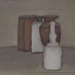 Giorgio Morandi (Bologna, 20 luglio 1890 – Bologna, 18 giugno 1964) Natura Morta, 1955 olio su tela. Bologna, Istituzione Bologna Musei - Museo Morandi