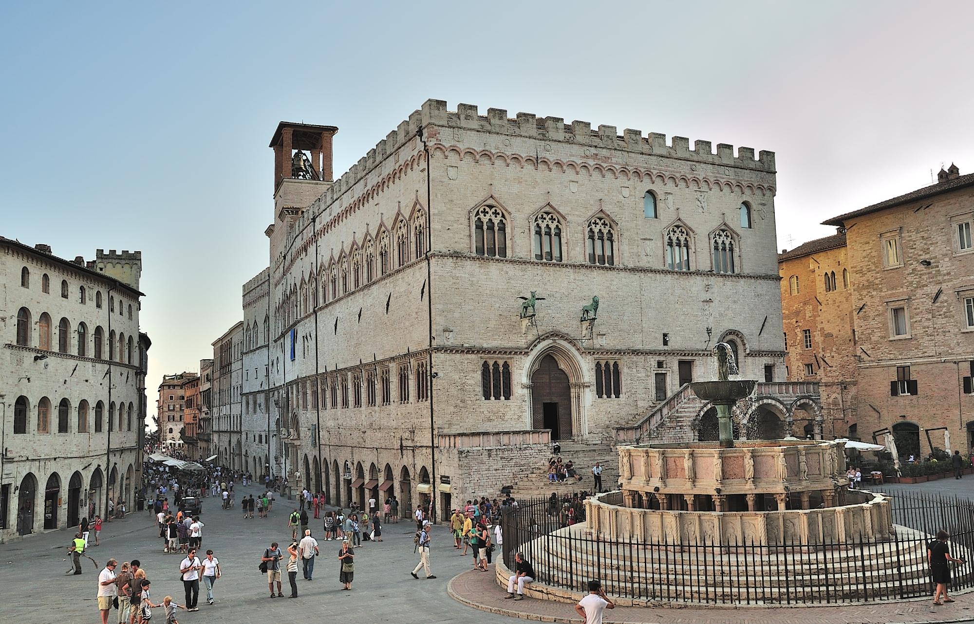 Piazza IV novembre - Perugia