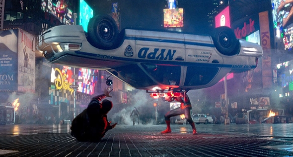 Time Square- Spiderman
