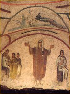 Cubicolo della Velata (Catacombe di Priscilla)