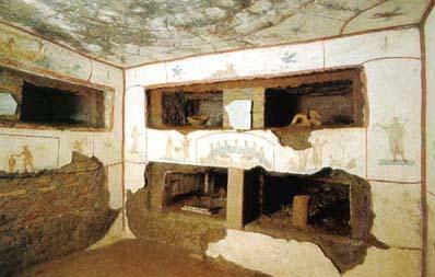 Cubicoli dei Sacramanti (San Callisto)