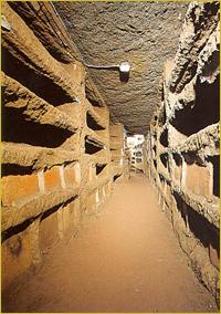 Galleria (Catacombe di Priscilla)