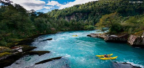 Il fiume Futaleufu