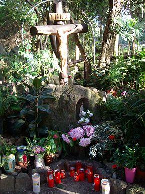Madonna di Zaro - luogo apparizione