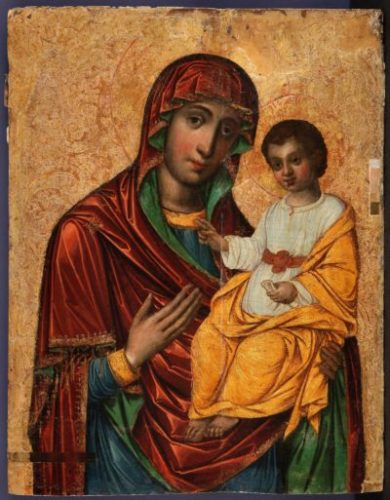 Madonna Odigitria (XVII sec.)