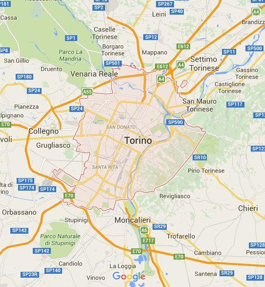 TORINO MAPPA