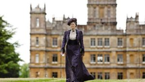 Violet at Highclere castle