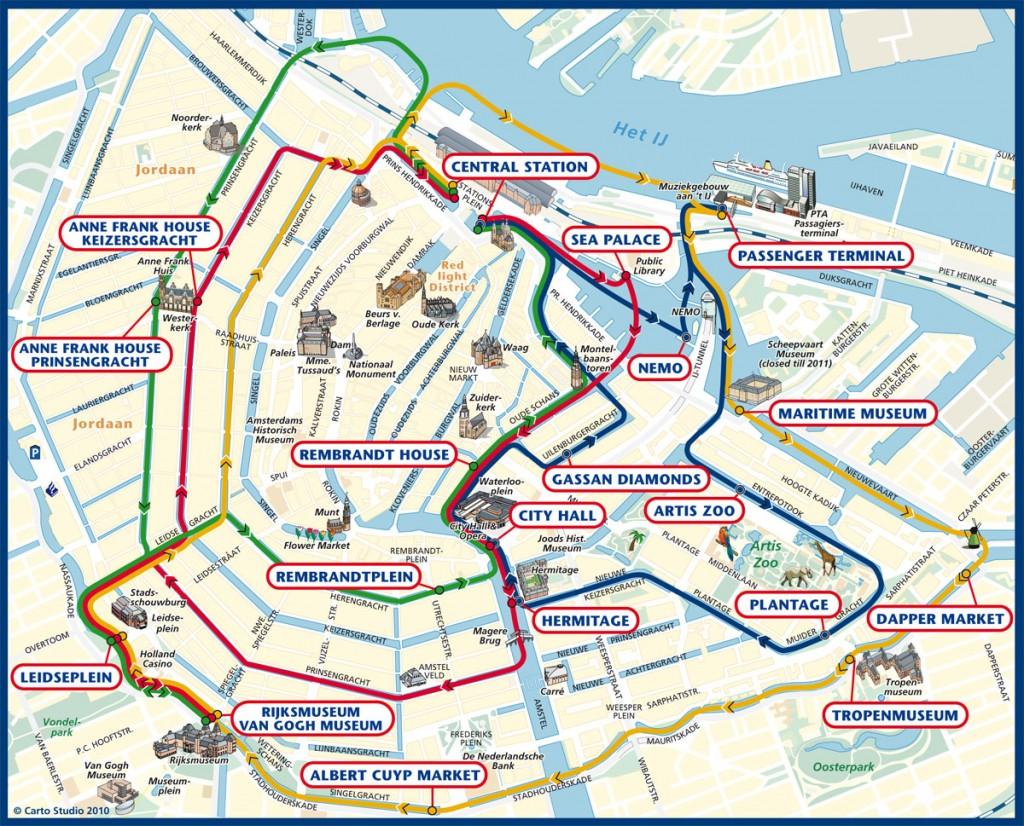 Cartina Piste Ciclabili Olanda.Amsterdam Weekend Nella Citta Dai Mille Volti Tgtourism