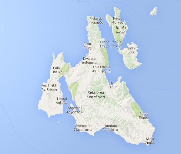 Mappa Itaca