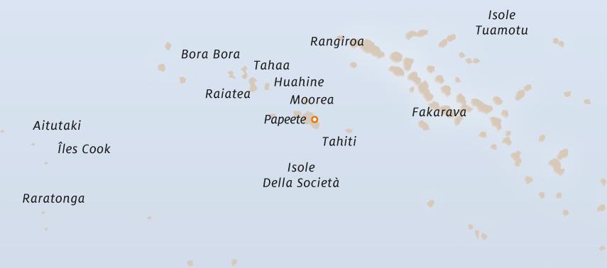 mappa polinesia