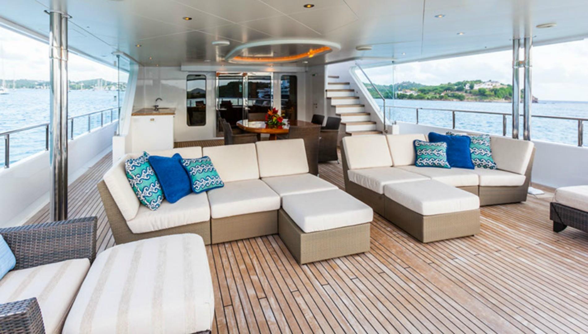 Vacanze su yachts di lusso tgtourism for Arredamenti bellissimi
