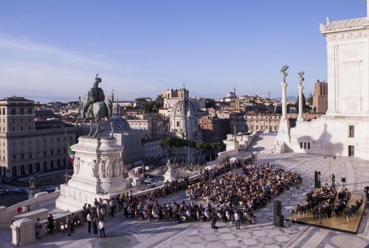 Roma La Terrazza Del Vittoriano Si Apre Gratis All Arte E