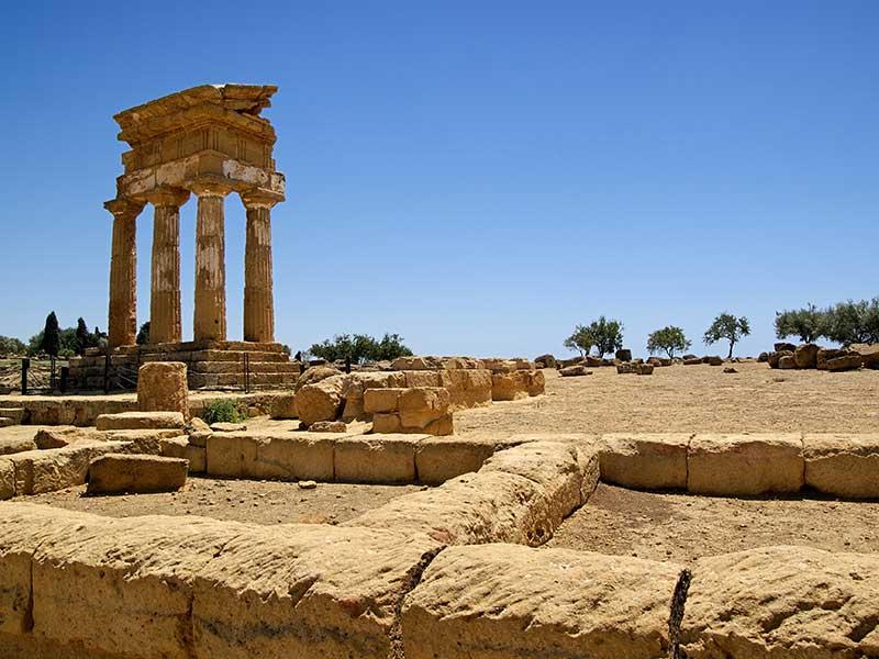 Tempio dei dioscuri/Valle dei Templi