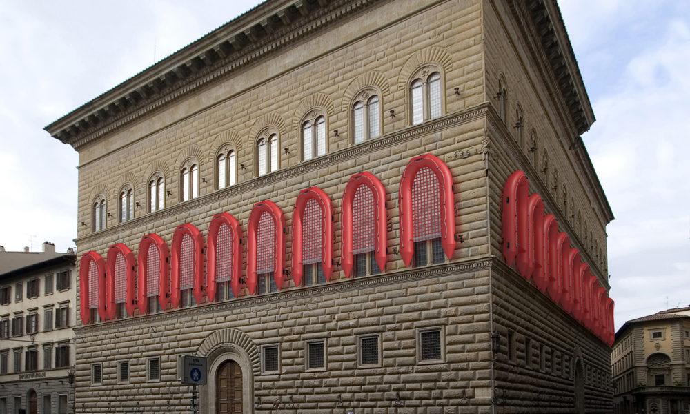 Gommoni su Palazzo Strozzi