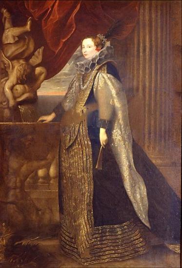 Ritratto di Caterina Balbi Durazzo, Anton Van Dyck, Palazzo reale di Genova