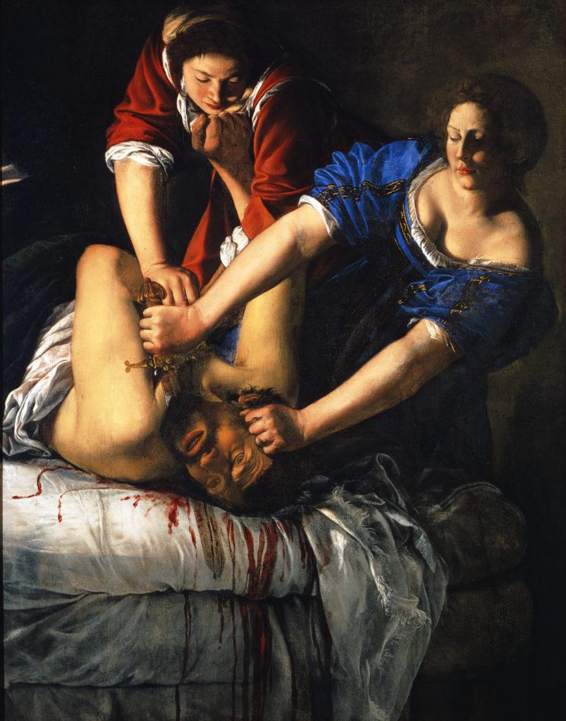 Giuditta taglia la testa a Oloferne