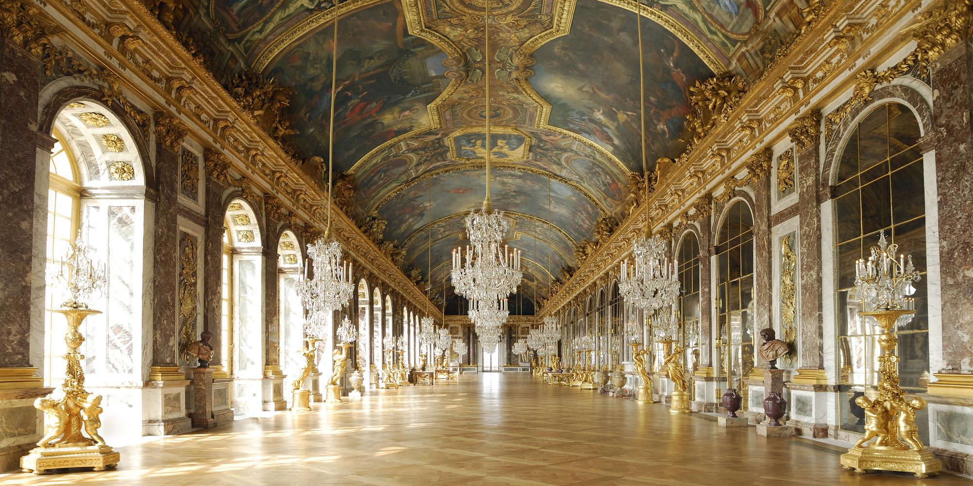 Salone degli Specchi, Versailles, Francia