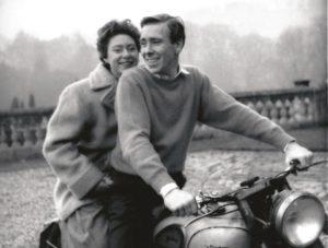 Lord Snowdon con Margaret