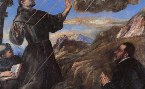 """TIZIANO VECELLIO Pieve di Cadore 1488/1490, in mostra a """"Santi d'Italia"""""""