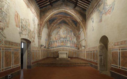 Chiesa San Lorenzo in Ponte, San Gimignano, 25 marzo 2017