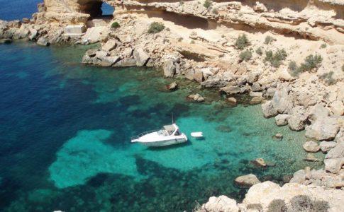 Il mare in Ibiza