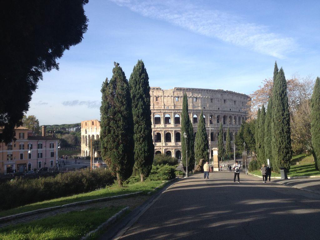 Homeaway: Colosseo e giardini