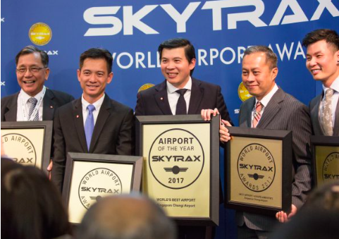 Cerimonia Skytrax World Airport Awards