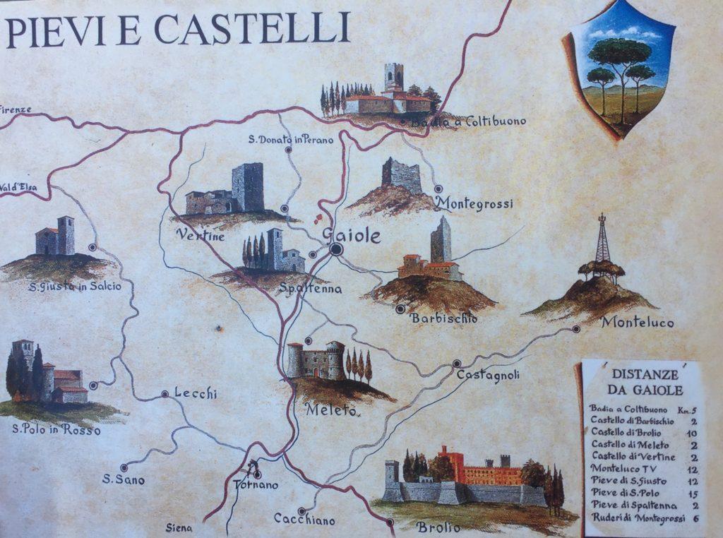chianti castelli