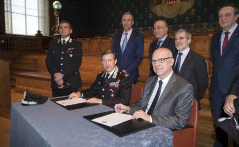 Cerimonia restituzione del dipinto dai Carabinieri del Comando Tutela Patrimonio Culturale