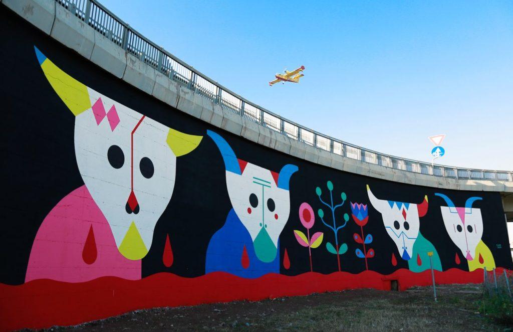 Murales Camilla Falsini GRAart