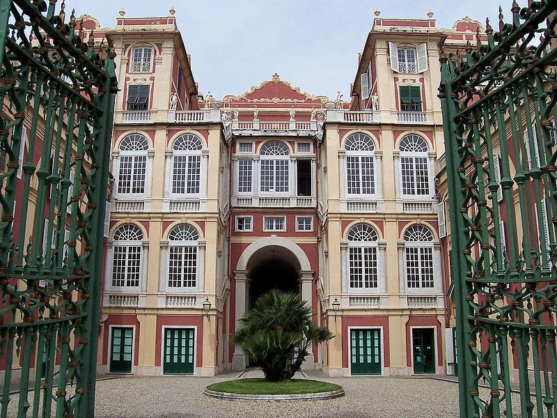 Palazzo Reale Genova, il quale presenta l'app