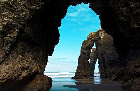 Arco naturale di Praia de Augas Santas