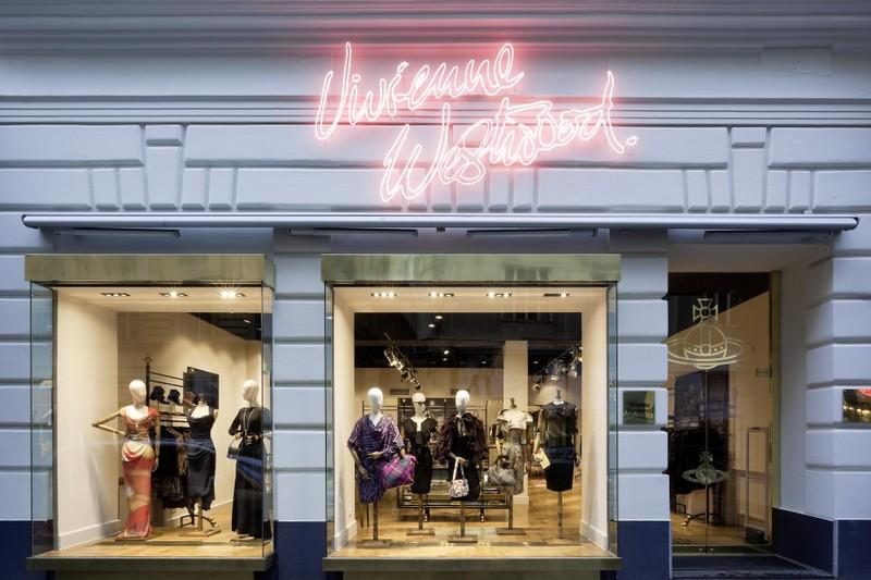Vivienne Westwood al Goldenes Quartier di Vienna