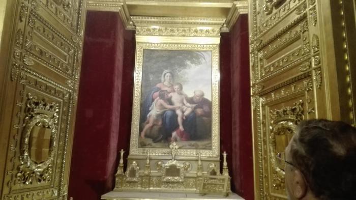 Cappella di Carlo Alberto del Palazzo Reale di Torino restaurata