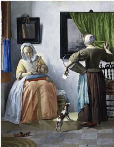 Gabriel Metsu, Donna che legge una lettera ©Dublin, National Gallery of Ireland