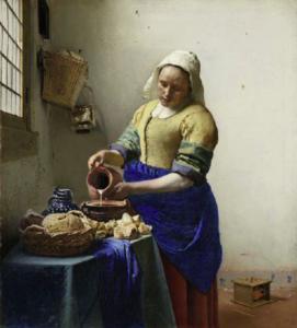 Vermeer, La Lattaia ©Amsterdam, The Rijksmuseum
