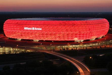 Allianz Arena, stadio di Monaco di Baviera