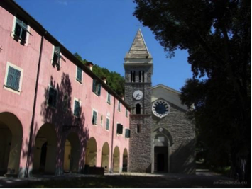 Via dei Santuari, in Liguria