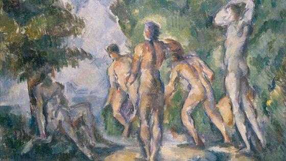 Cézanne, Museo Puskin