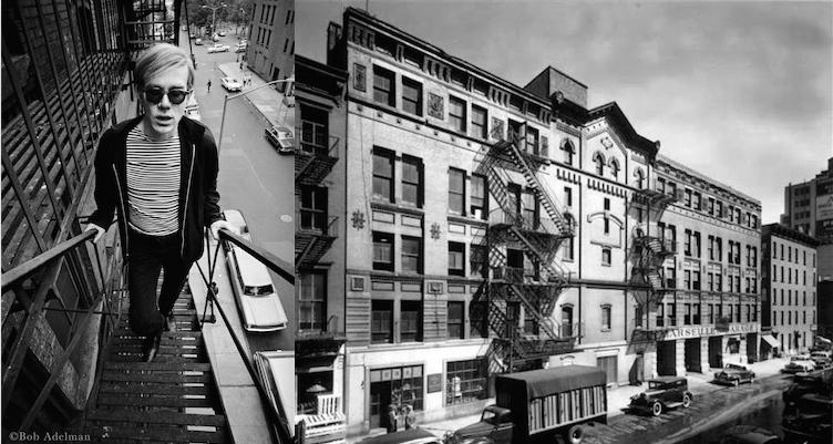 Andy Warhol e Silver Factory (città imperdibile)