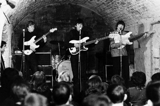 Beatles al Cavern Club