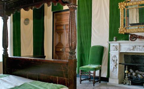 Camera verde dell'appartamento della Principessa